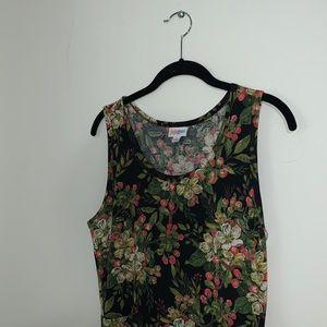 LULAROE - Floral Nicki Dress